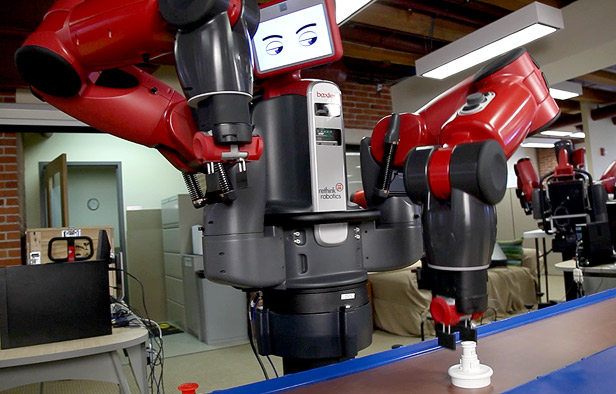 Rethink Robotics's first robot, Baxter.