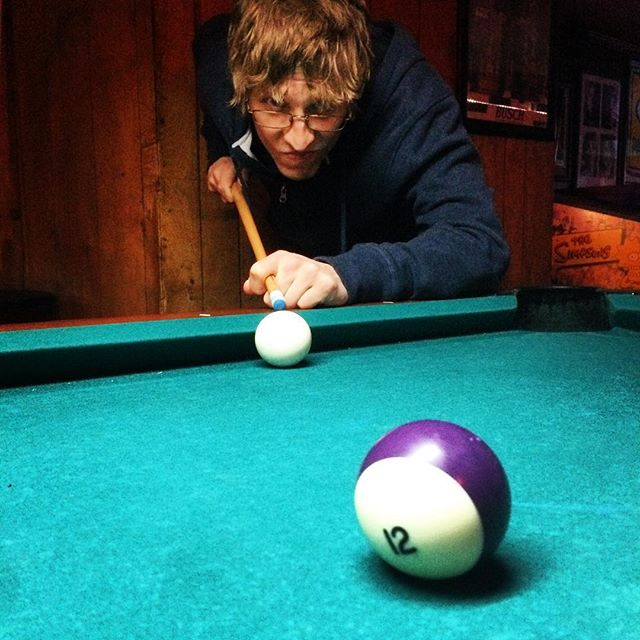 Found out this weekend that we are garbage at pool. #thatdollergoesalongway #picturepoolside #practicemakesprogress