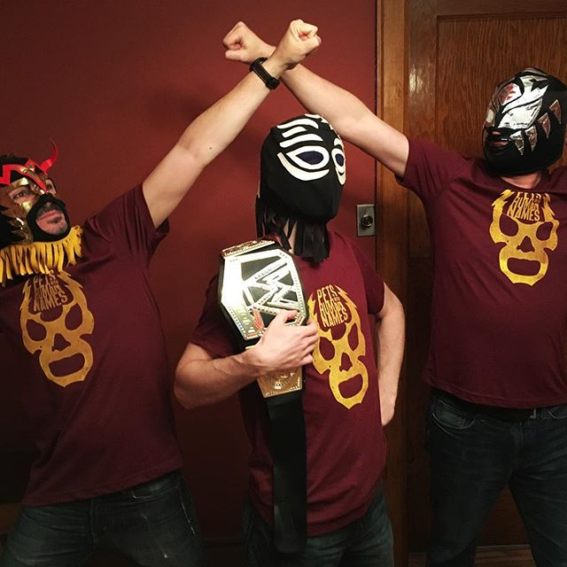T-SHIRT GIVEAWAY! #wrestlemania season is upon us! Tag us @petswhn with your best wresting pose to win one of our new limited edition #lucha shirts! #newmerchandise #photocontest #showmewhatyougot #tshirtgiveaway