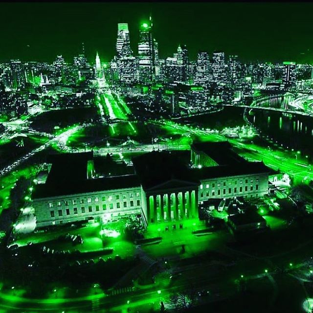 ALL GREEN EVERYTHING! #superbowlchampions #eagles  #philadelphia #bleedgreen