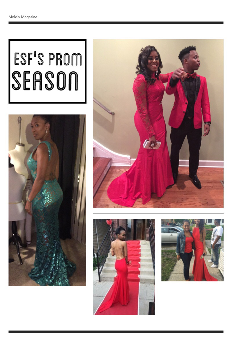 This years Elizabeth Smith Fashions custom prom gowns.