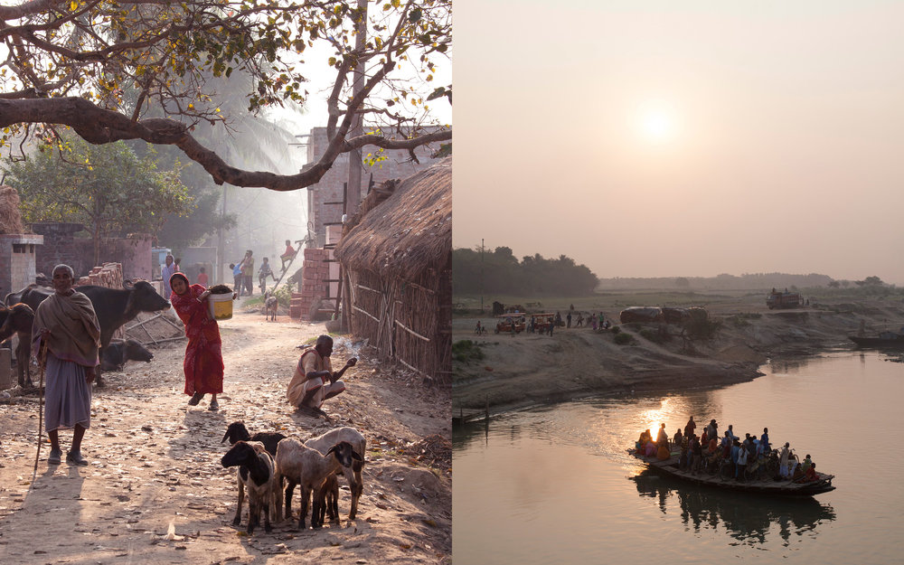 Photographs along the Ganges River in India by Kevin J. Miyazaki