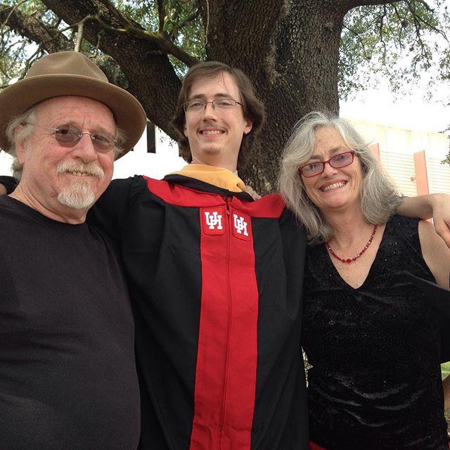 Gabe's a masters graduate