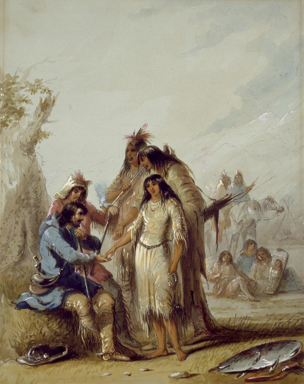The Trapper's Bride