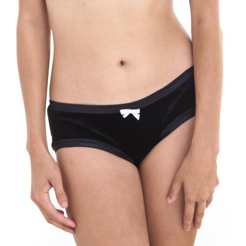 50193f2a7fcc6 Black Velvet Low Waist Undies  wholesale  ...