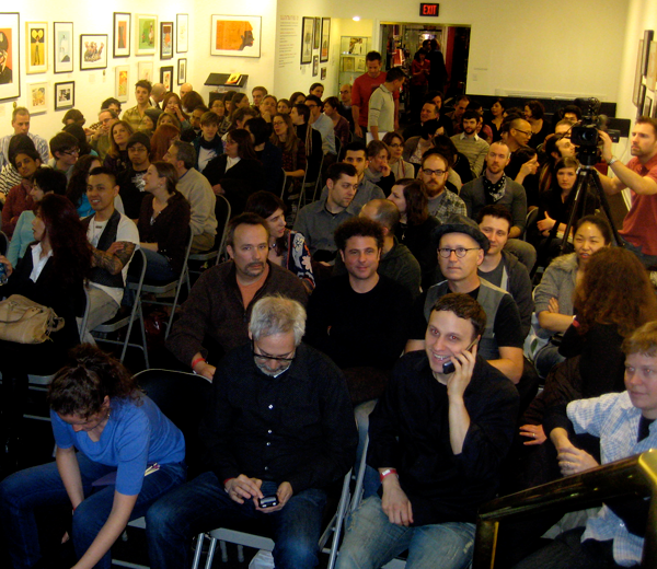 Talk at Society of Illustrator NYC.  Watch the video.