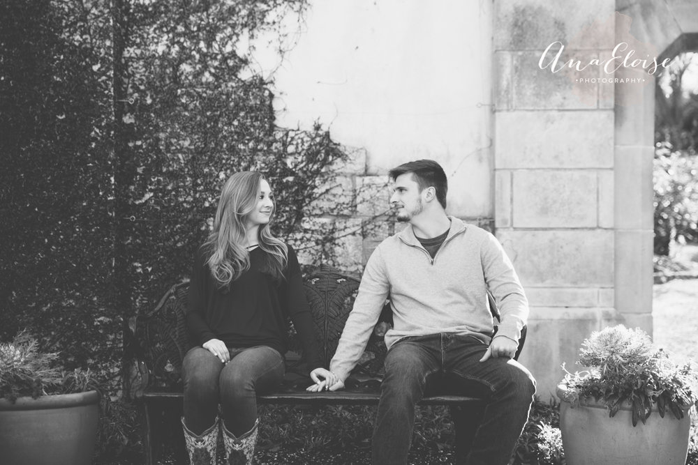 Ana Eloise Photography dallas fort worth wedding photography engagement couples
