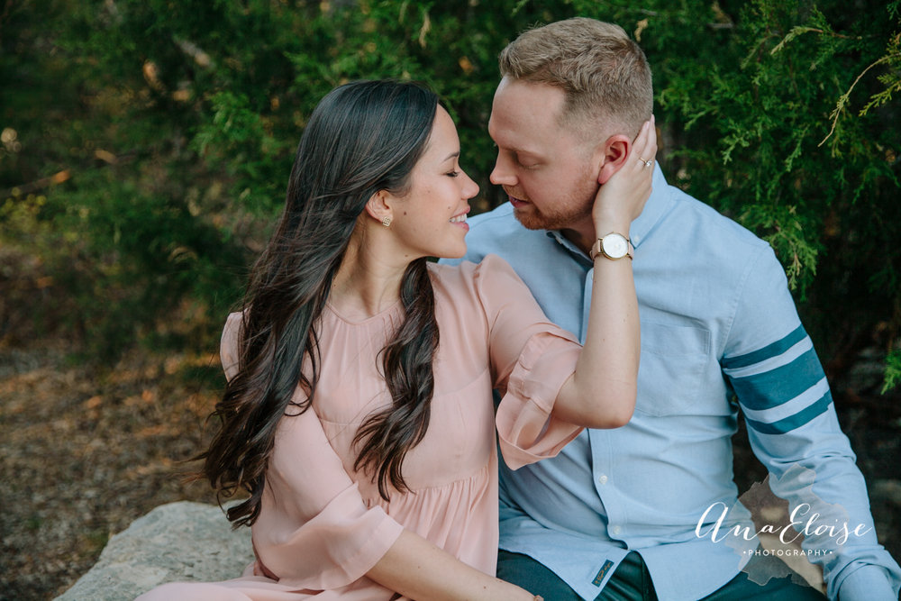 ana eloise photography wedding photography engagements dallas fort worth the knot texas brides