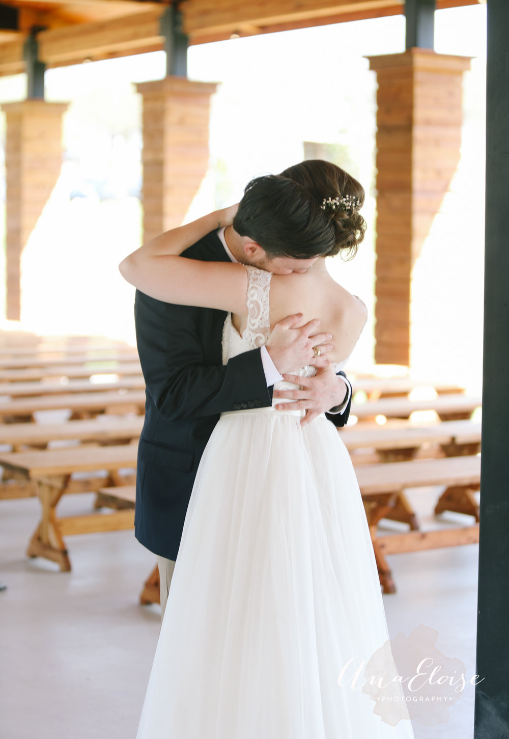 Ana Eloise Photography Dallas Fort Worth Wedding Photography Aubrey The Barn The Milestone Mansion The Knot