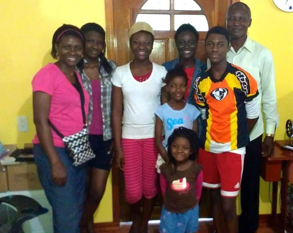 David & Dupe Adegbami & Family