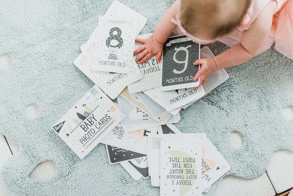 Milestone Baby Minimalist Baby Cards