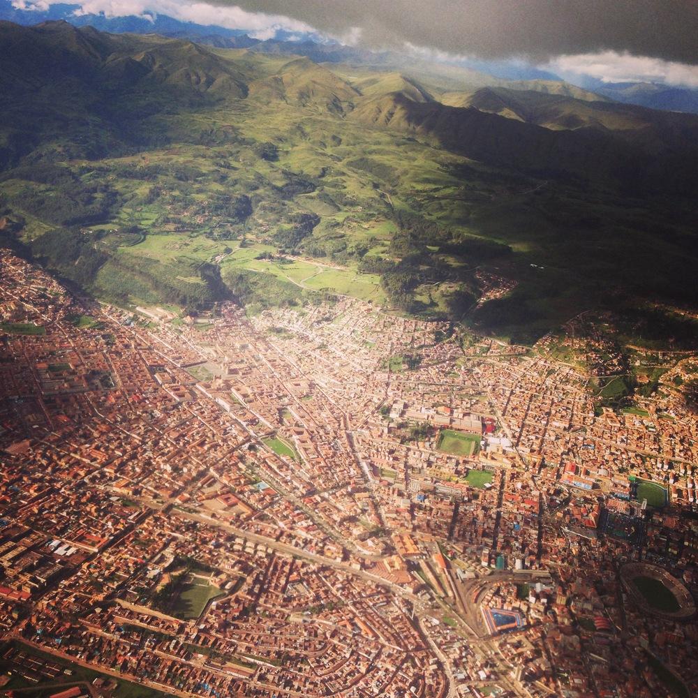 Aerial view Cusco Peru - 3 Days*