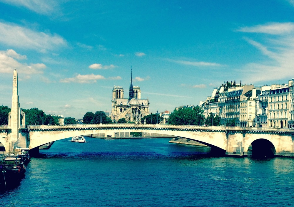Pont Marie over Seine river, Paris France - 3 Days*