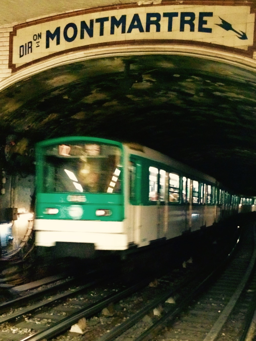 Metro Montmartre, Paris France - 3 Days*