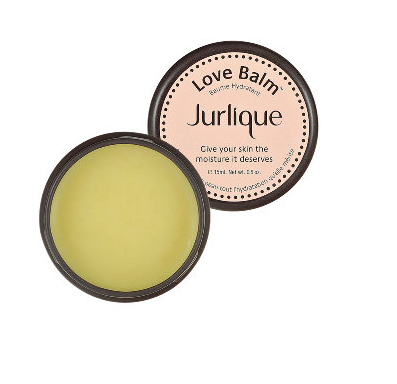 The tangerine scented, organic Jurlique Love Balm also works wonders on cuticles and elbows.