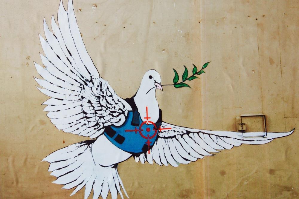 Banksy Mural Bethlehem - 3 Days*