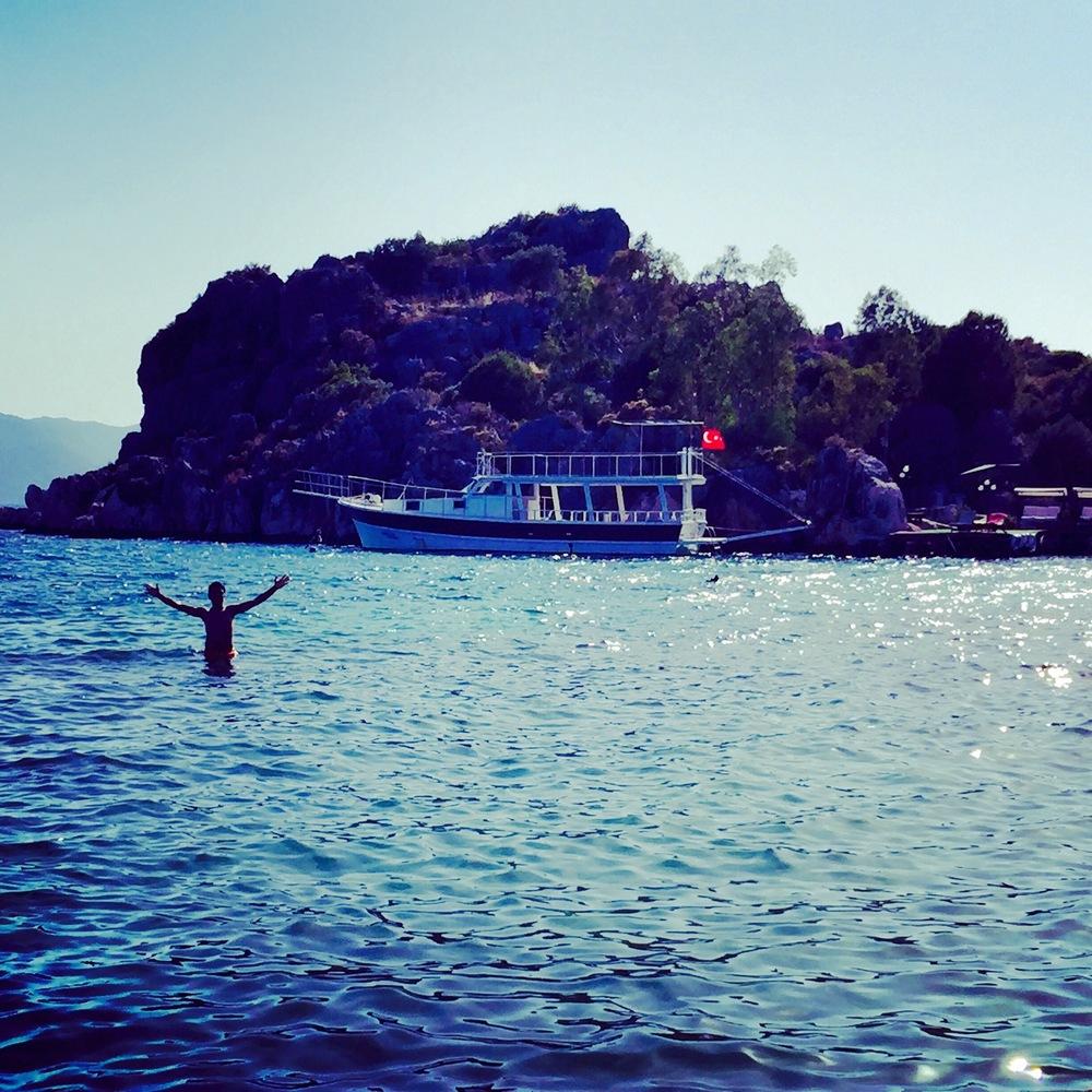 Beach boat ocean, Turkey - 3 Days*