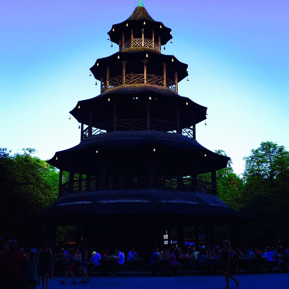Chinese Tower in the English Garden, Munich Germany - 3 Days*
