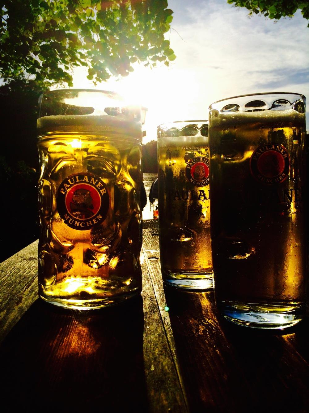 Paulaner beer, Seehaus Munich Germany - 3 Days*