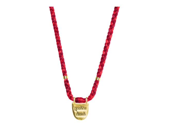 The Limitless (in Khmer) necklace comes in many popping colors