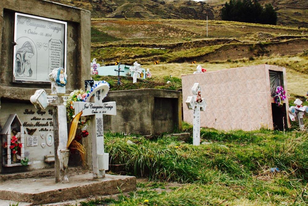 Cemetery in Andean Highlands, Ecuador - 3 Days*