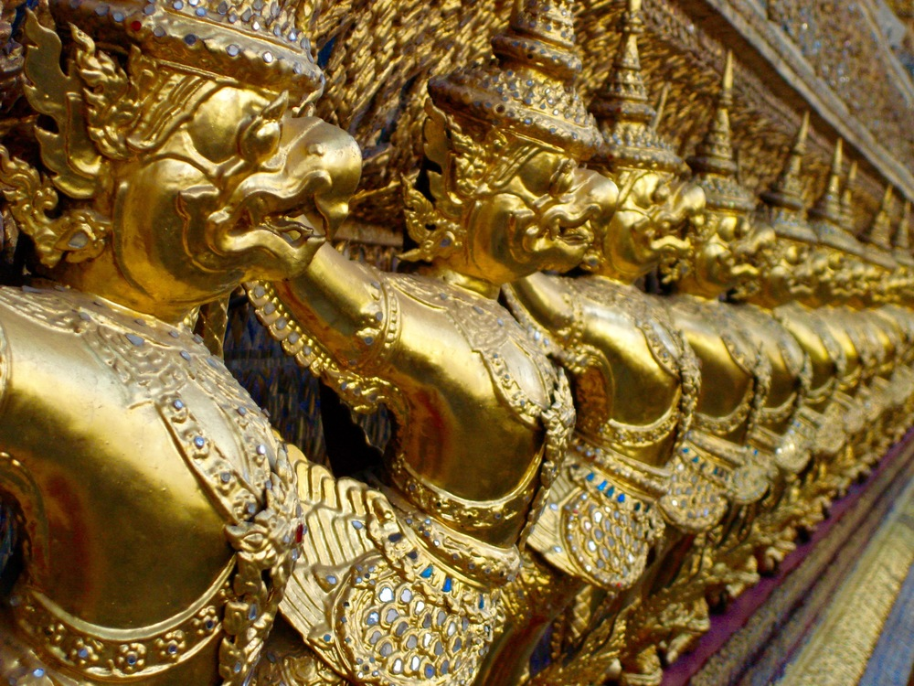Golden Facade at the Grand Palace, Bangkok Thailand - 3 Days*