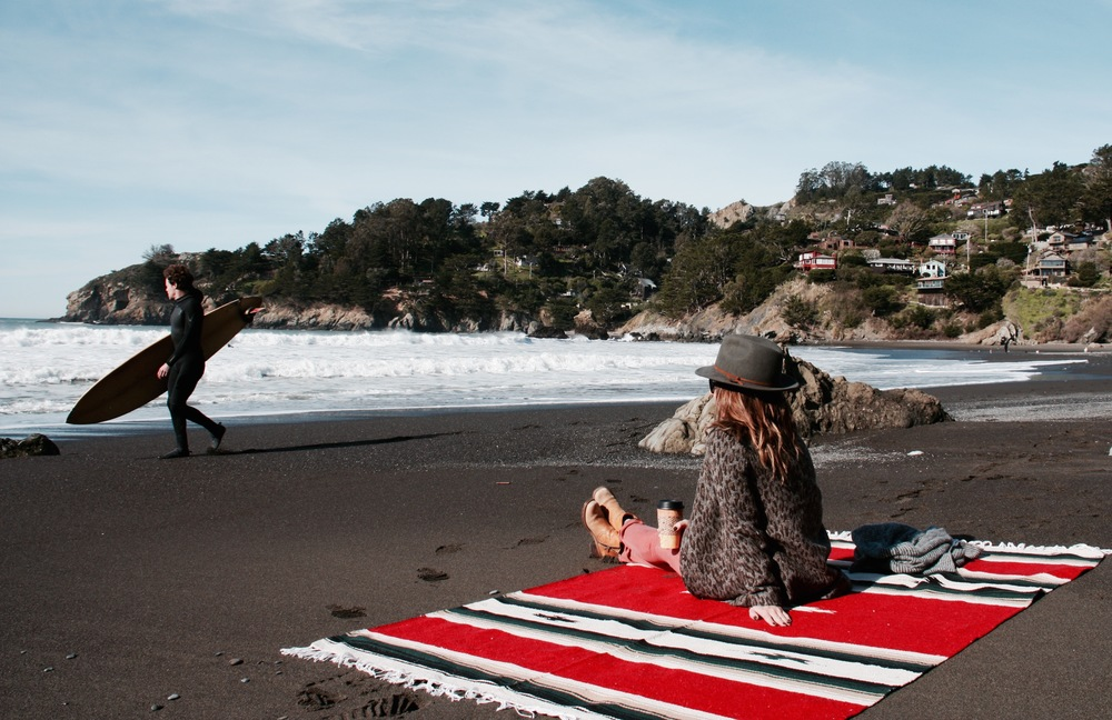 Watching Surfers at Muir Beach, California - 3 Days*