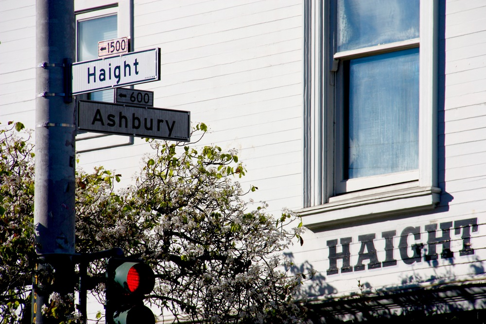 Haight & Ashbury corner, San Francisco California - 3 Days*
