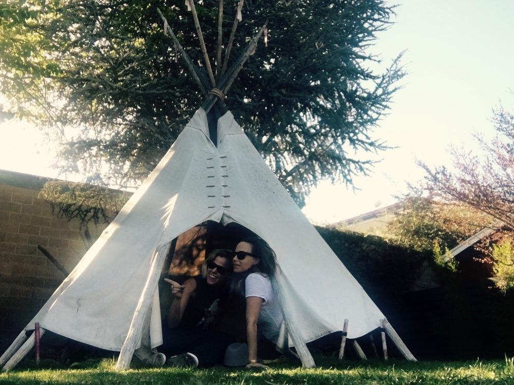 Tipi Tent at Ojai Rancho Inn, Ojai California - 3 Days*
