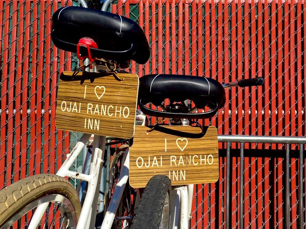 Ojai Rancho Inn's bicycles, Ojai California - 3 Days*