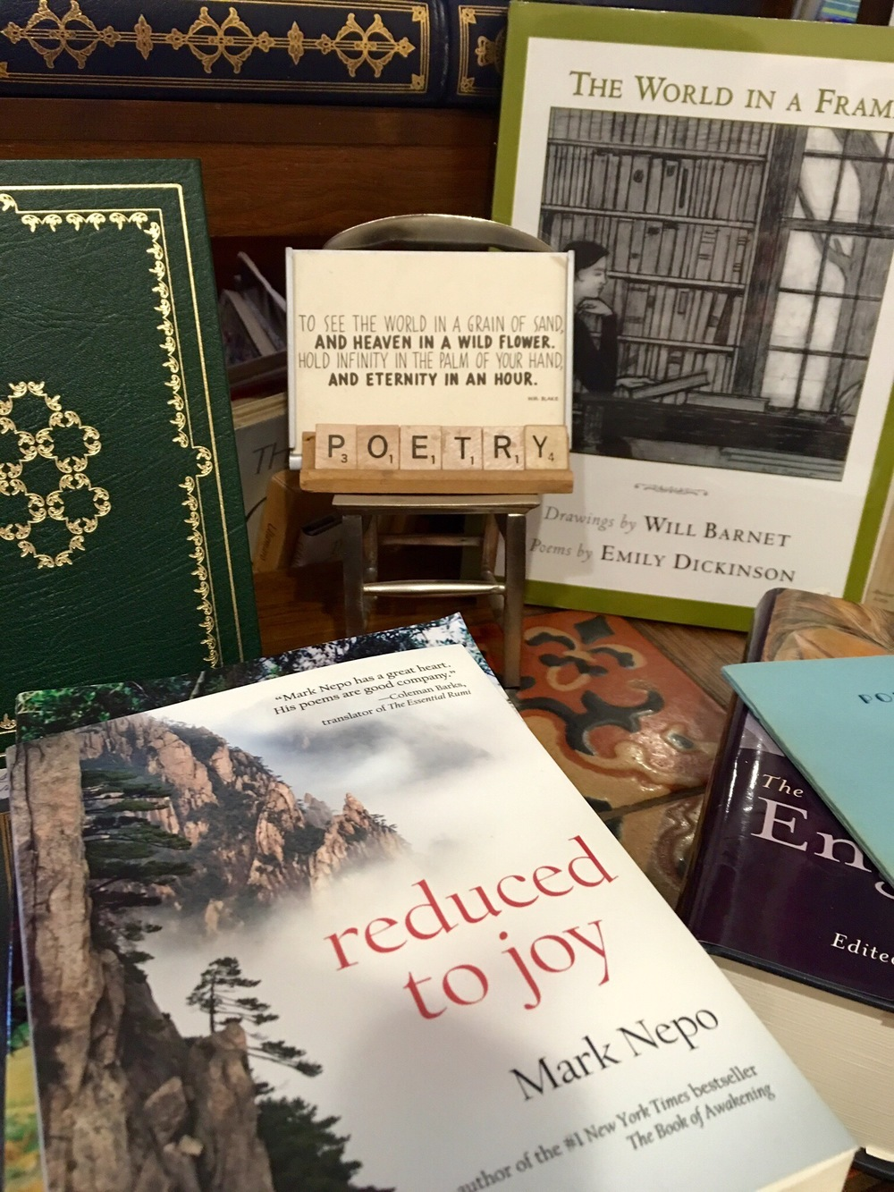 Poetry in a book store, Ojai California - 3 Days*