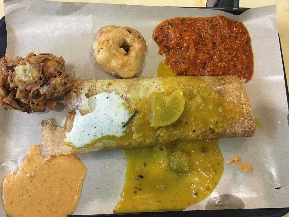 Indian Dosa with Masala