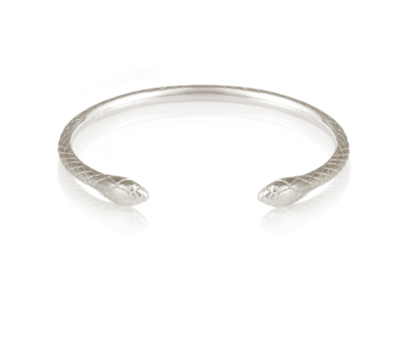 Serpent Silver Cuff - because everyone needs a serpent in their jewelry box