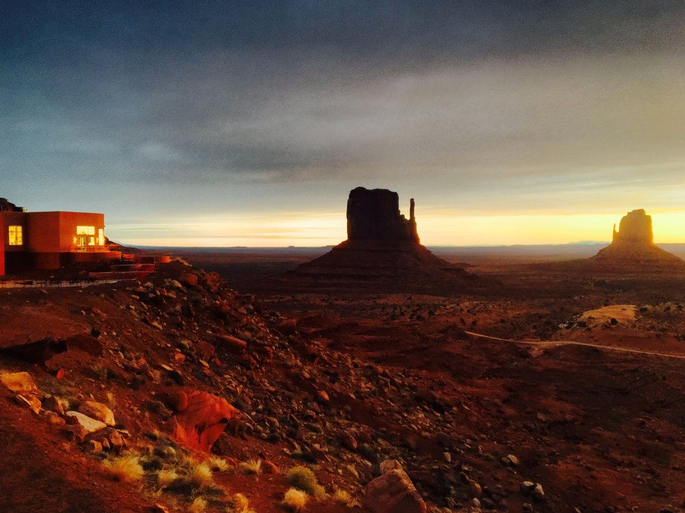 Sunrise from 'The View Hotel' in Monument Valley, Utah - 3 Days*