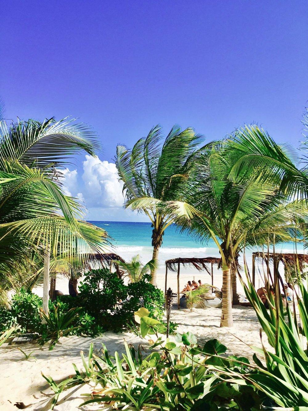 Andrea Emmerich, Tulum Beach cabanas, Yucatan Mexico - 3 Days*