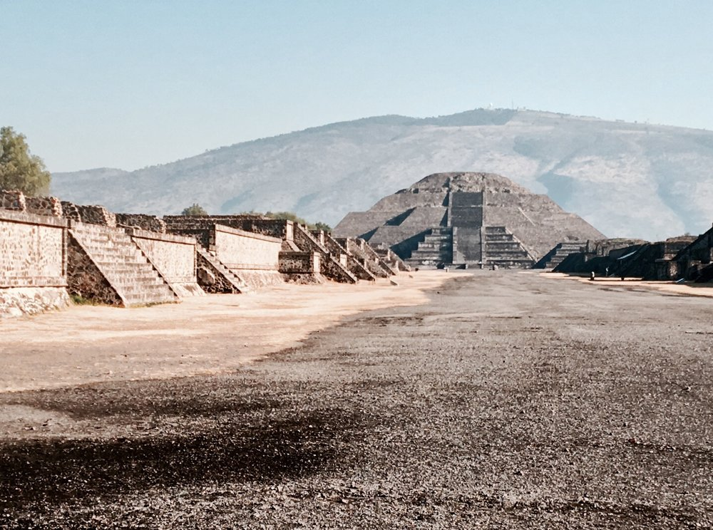 Pyramid of the Moon, Teotihuacan, Mexico - 3 Days*