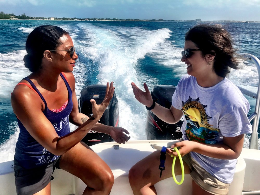 The Cayman Islands, Christina moses with scuba instructor, 3 Days*