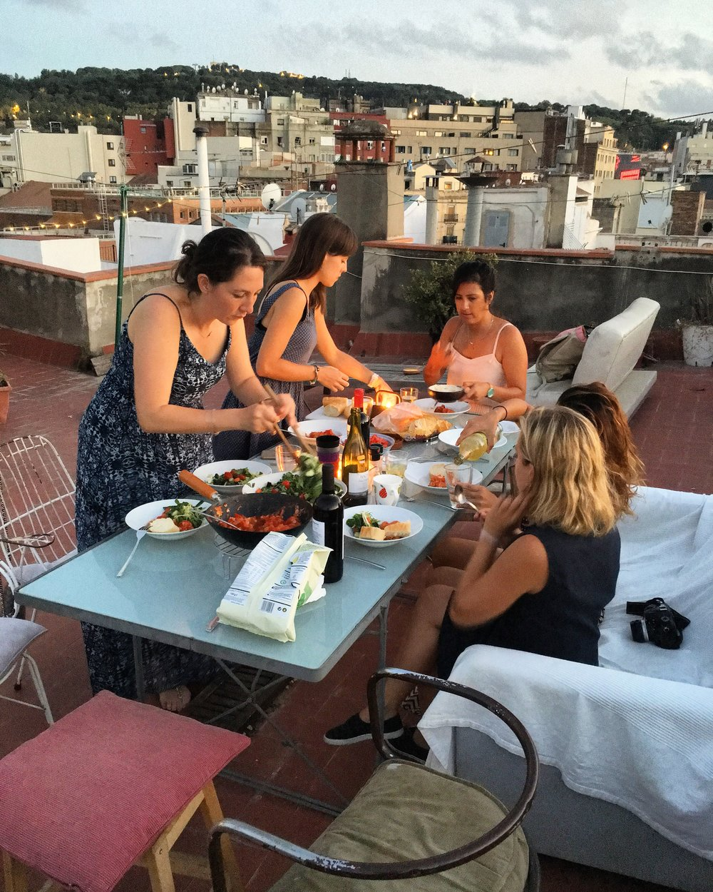 """""""Future of Women"""" dinner in Barcelona, 3 Days*, 📸 Hallie Applebaum"""