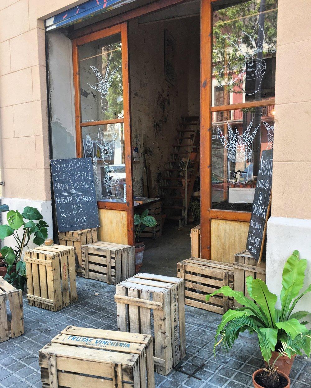 Cafe Espai Joliu in Barcelona - 3 Days* - 📸 H. Applebaum