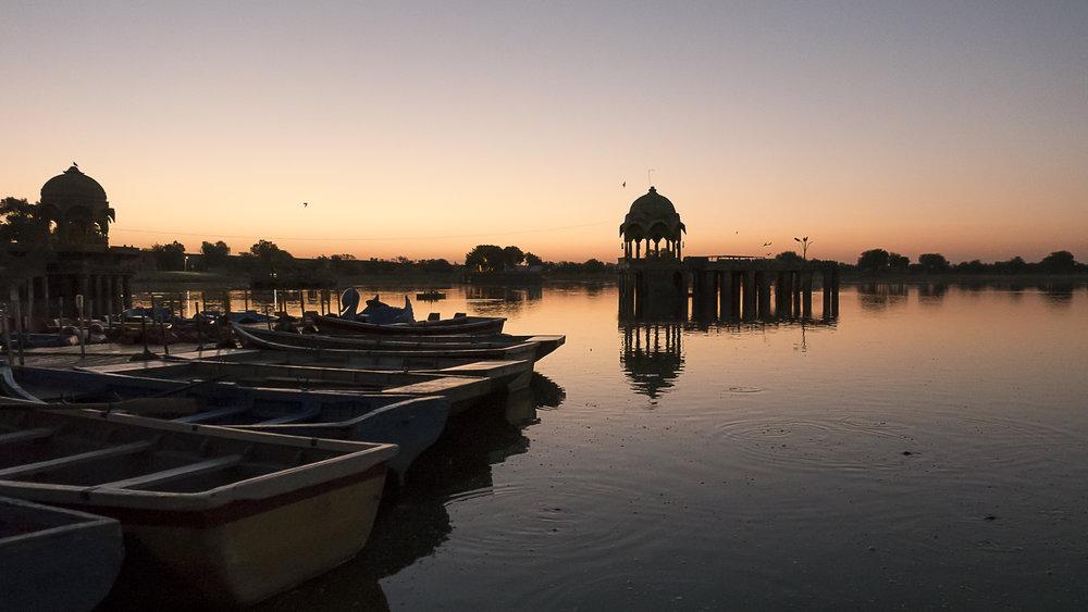 Jaisalmer, Rajasthan, India - sunrise at Gadisa lake, 3 Days* - Barbara Huber