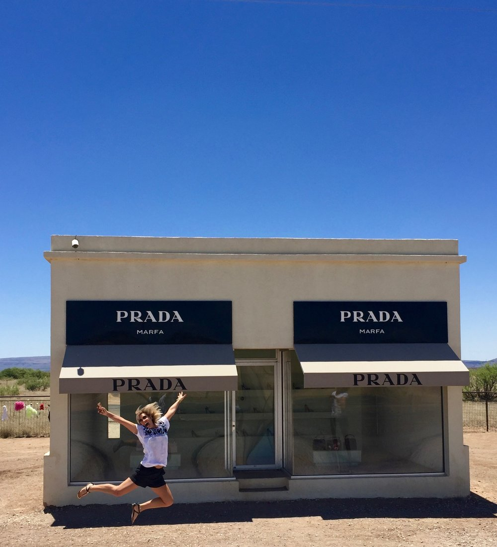 Prada store in Marfa, Texas - 3 Days*