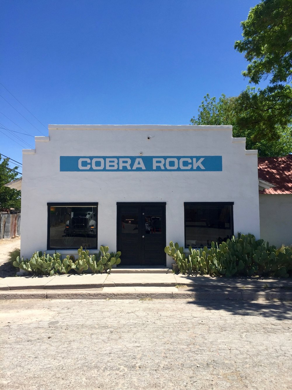 leather good at Cobra Rock, Marfa, Texas - 3 Days*