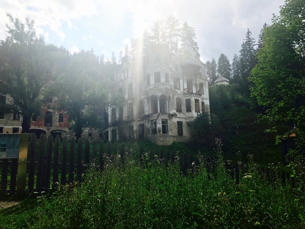 abandoned sanatorium, South Tyrol, Italy - 3 Days*