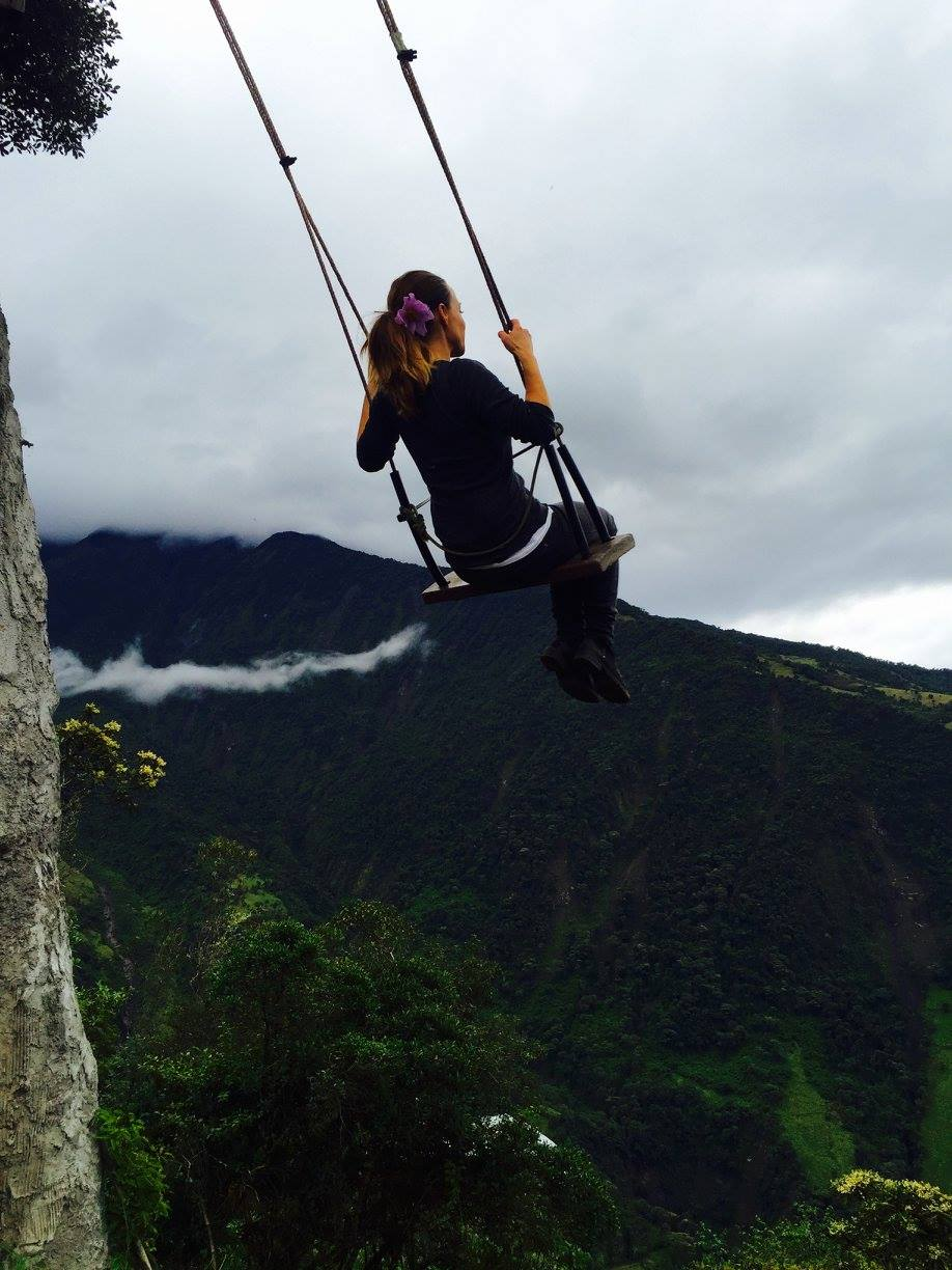 Swinging with Jetstream Propulsion - Baños, Equador, The Swing at the End of the World, 3 Days*