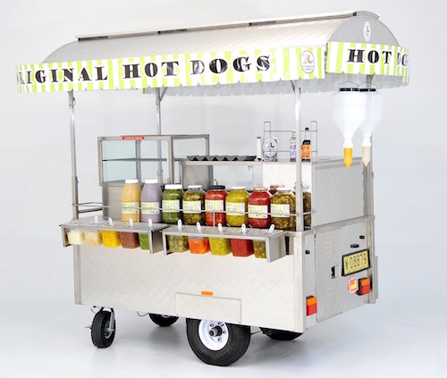 Hot Dog Cart - Yummy Dogs