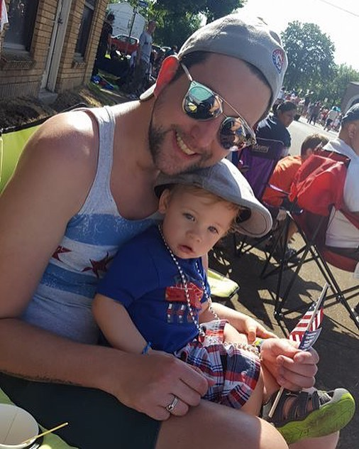 #flashbackfriday 4th of July parade with the godsons and fam! 😍