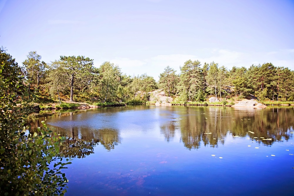 Some scenery from our hike in Kristiansand