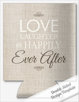 LOVE & LAUGHTER\' SAYING WEDDING COOLERS by personalizedpockets.com.com