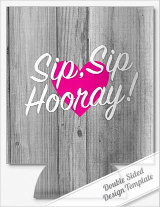 SIP, SIP\' SAYING WEDDING KOOZIES by personalizedpockets.com.com