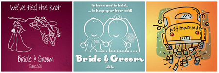 of course a simple sketch does not have to be of the bride and groom if you do not think that would work for you why not look at other ideas